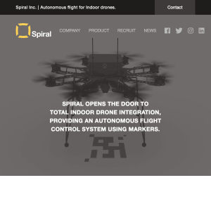 Spiral,Inc. HP image